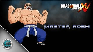 Dragon Ball Xenoverse - Character Creation: Master Roshi Full Power