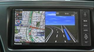 getlinkyoutube.com-Panasonic Strada CN-H500WD(首都高速)