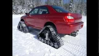 getlinkyoutube.com-American Track Truck -- Subaru Impreza WRX -- stock 2.0 liter engine -- DOMINATOR™ Tracks -- WOW!