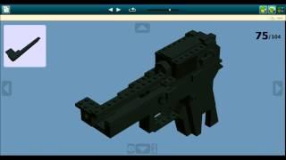 getlinkyoutube.com-LDD Lego Beretta M9 Instructions