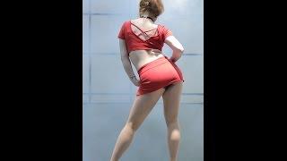 getlinkyoutube.com-[직캠/Fancam] 151225 포스타(4STAR) (솔이) 댄스공연 @ 동대문 굿모닝시티