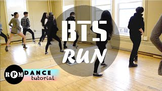 "getlinkyoutube.com-BTS ""Run"" Dance Tutorial (Chorus)"