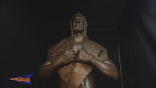 getlinkyoutube.com-WWE Network: The making of Seth Rollins' statue