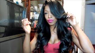getlinkyoutube.com-FINAL REVIEW QUEEN HAIR BUNDLES MALAYSIAN STRAIGHT