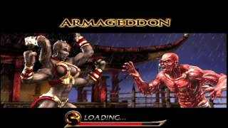 Mortal Kombat: Armageddon (PlayStation 2) Arcade as Sheeva
