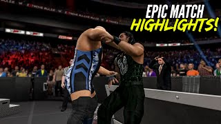 getlinkyoutube.com-WWE 2K15 Extreme Rules 2015 Roman Reigns vs Big Show | Epic Match Highlights!