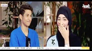 getlinkyoutube.com-لقاء موها وأخته نجود الشمري في صباح العربية