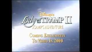 Closing To Lady And The Tramp 1998 VHS