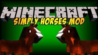 getlinkyoutube.com-TINY'S MODS - Simply Horses-  A Small Minecraft Mod