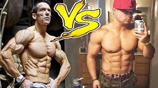 getlinkyoutube.com-Shredded VS Lean Muscle