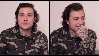 getlinkyoutube.com-Frank Iero Talks MCR's Group Chats, New Music & Moving On From His Accident