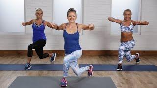 getlinkyoutube.com-15-Minute Beginner's At-Home Cardio Workout | Class FitSugar