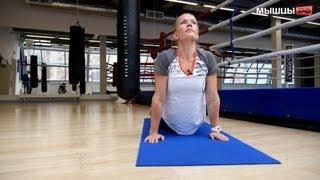 getlinkyoutube.com-Тренировка для людей с проблемами со спиной и позвоночником от Ольги Портновой