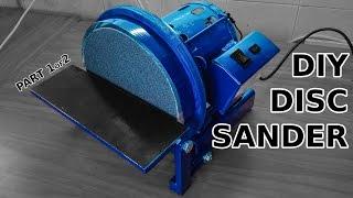 getlinkyoutube.com-Awesome DIY Disc Sander. Part 1 of 2. Casting And Machining!