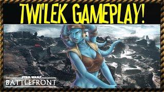 getlinkyoutube.com-Twi'lek Gameplay (Star Wars Battlefront) Character Spotlight