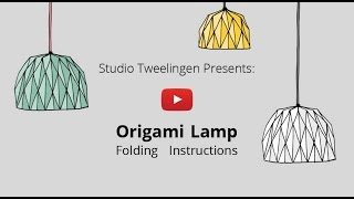getlinkyoutube.com-Origami Lamp