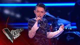 Ciaran Performs 'Sax': Blinds 2 | The Voice Kids UK 2018 width=