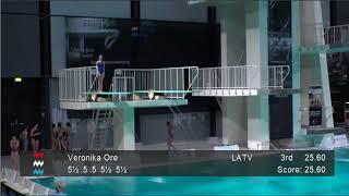Girls C 3m - Senet Diving Cup 2018