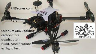 getlinkyoutube.com-Quanum XJ470 Folding Quadcopter: Build, Modifications & Flight Test
