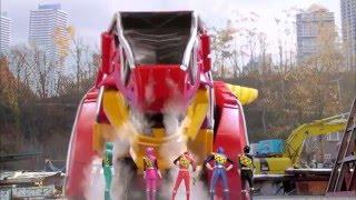 Power Ranger Dino Charge | Primera batalla de los rangers - Capitulo 2