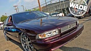 """getlinkyoutube.com-Forgiato Weekend LA : Candy Impala SS on 24"""" Forgiato Wheels"""