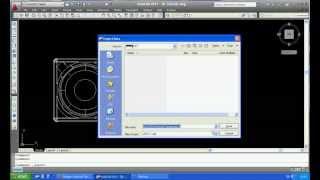 getlinkyoutube.com-Export AutoCAD file to ACIS file / SAT file