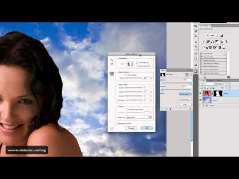 Photoshop Tutorial: Extracting People in CS5 the easy way