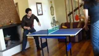 getlinkyoutube.com-Mini mesa de Ping Pong RS