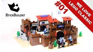 getlinkyoutube.com-We Love Lego Classic #01 - 6769 Fort Legoredo - 1996 - BrickBuilder