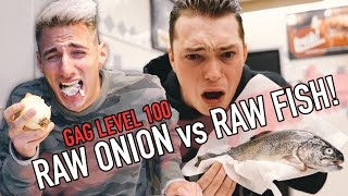 EATING OUR WORST FOODS CHALLENGE! w/ Lance Stewart