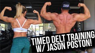getlinkyoutube.com-Timed Delt Training with Jason Poston!