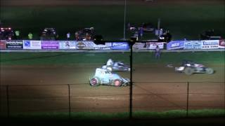 getlinkyoutube.com-Sprint Car A Main at Bloomington Speedway 8 19 16