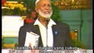 getlinkyoutube.com-Ahmed deedat vs Stanly sjorberg- Is jessus God (Apakah yesus tuhan) - Teks Indonesia 3
