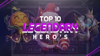 getlinkyoutube.com-TOP 10 Heroes In Castle Clash!!!