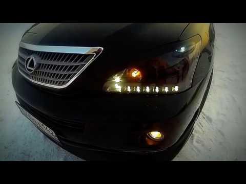 Фары Лексус RX400 - ЧМ стайлинг