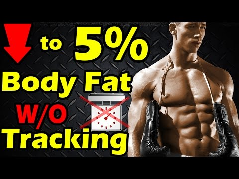 How to Get to 5% Body Fat Without Counting Calories & Macros ➠ Lean & Shredded no Tracking 6% 7 8 10