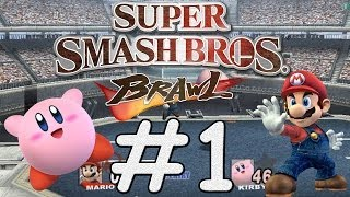 getlinkyoutube.com-Super Smash Bros Brawl - #1 - Adventure Mode - Midair Stadium