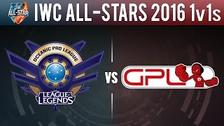 getlinkyoutube.com-OPL vs GPL, All 1v1s - IWC All-Stars 2016 1v1s - Oceania vs Southeast Asia