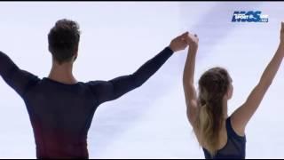 getlinkyoutube.com-Gabriella PAPADAKIS/Guillaume CIZERON - Championnat de France 2015 - FD
