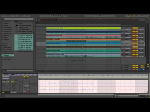 Ableton Copying Warp Markers to Multiple Clips