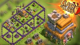 "Clash of Clans - TOWN HALL 7 4300 TROPHIES! ""INSANE"" Trophy Pushing! Champions Replays!"