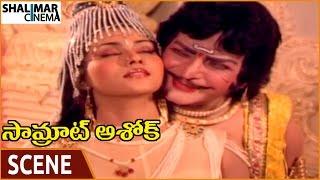 Samrat Ashok Movie    NTR Falls In Love With Vani Viswanath    NTR, Vani Viswanath    Shalimarcinema