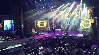 getlinkyoutube.com-Akcent, Lidia Buble si DDY Nunes - Kamelia - LIVE @ Media Music Awards 2014