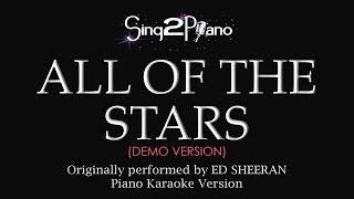 getlinkyoutube.com-All of the Stars (Piano Karaoke Version) Ed Sheeran