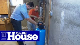getlinkyoutube.com-How to Install a Water Pressure Booster - This Old House