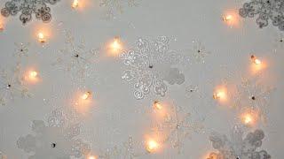 getlinkyoutube.com-12 Weken kerstdecoratie Verlicht canvas