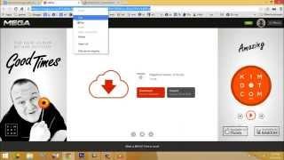 getlinkyoutube.com-How to Download Mega.co.nz Files Using IDM-Internet download Manager or MegaDownload Manager