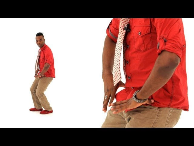 How to Do a Body Roll & Power Stomp for Men | Bachata Dance