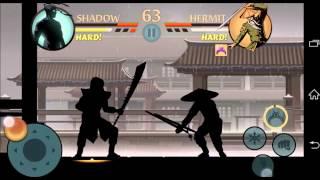 getlinkyoutube.com-SHADOW FIGHT 2 INTERLUDE: HEAVIES TUTORIAL (Hermit battle)