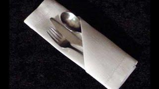 getlinkyoutube.com-Cómo doblar una Servilleta de papel para una fiesta* FACIL Y RAPIDO!!!!!! - Madelin's Cakes